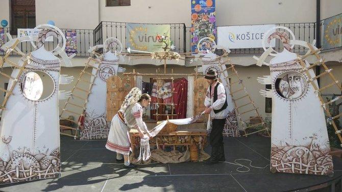 """Закарпатські лялькарі вчергове взяли участь у фестивалі """"VIRVAR"""" у Словаччині"""